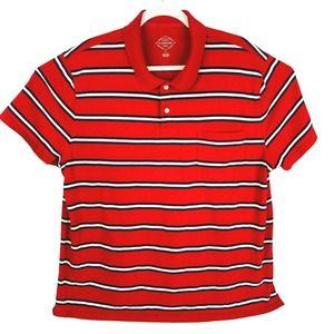St Johns Bay Casual Polo Golf Shirt Cotton Mens XL
